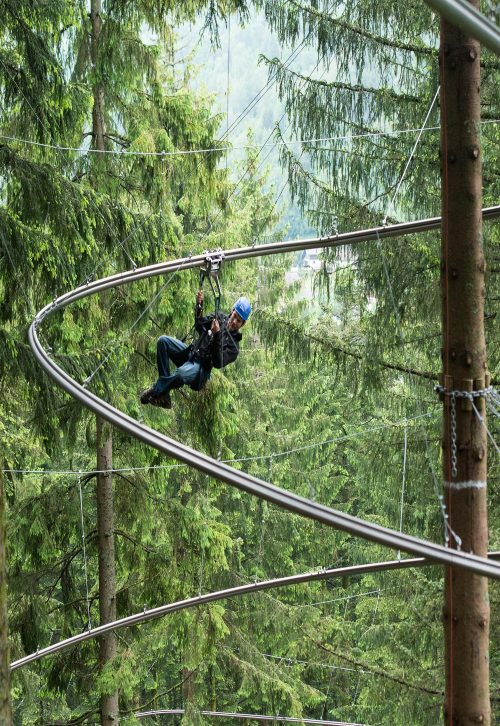 Zip Twist –  Zip Line Coaster